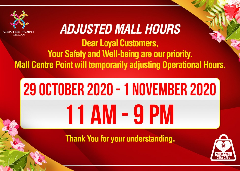 Adjusted Mall Hours